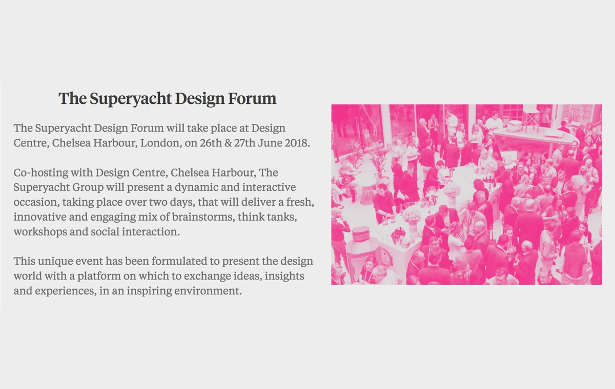 News image for Steve Gresham to speak at The Superyacht Design Forum