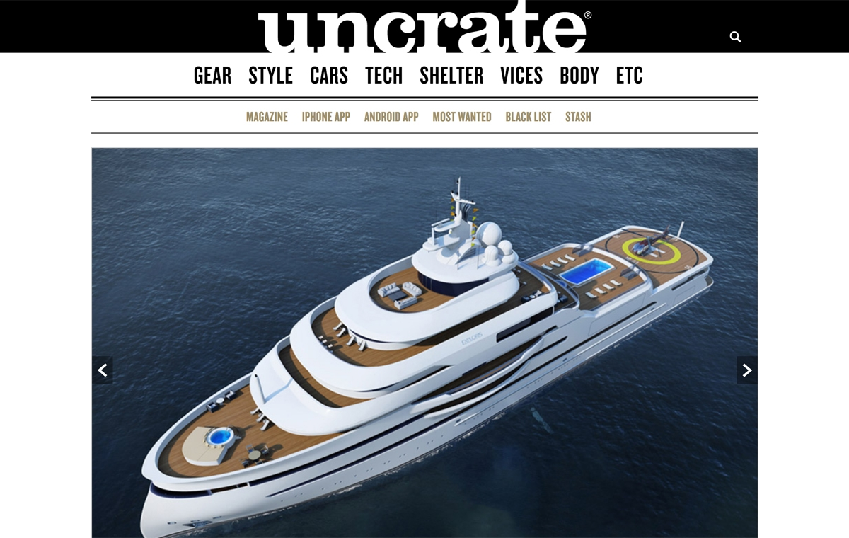 News image for Uncrate unpacks the essence of the 100m Exploris