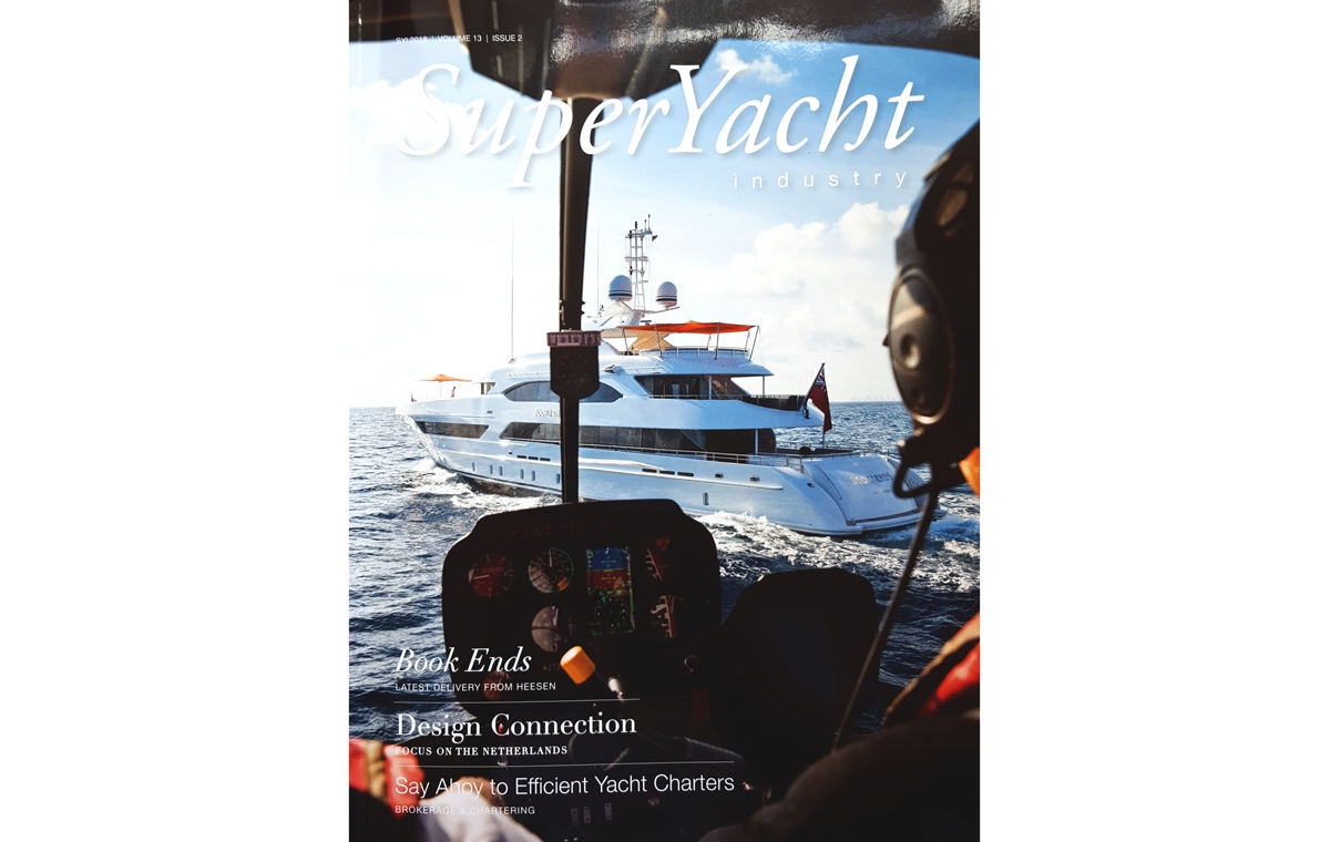 News image for Superyacht Industry Magazine features Victoria