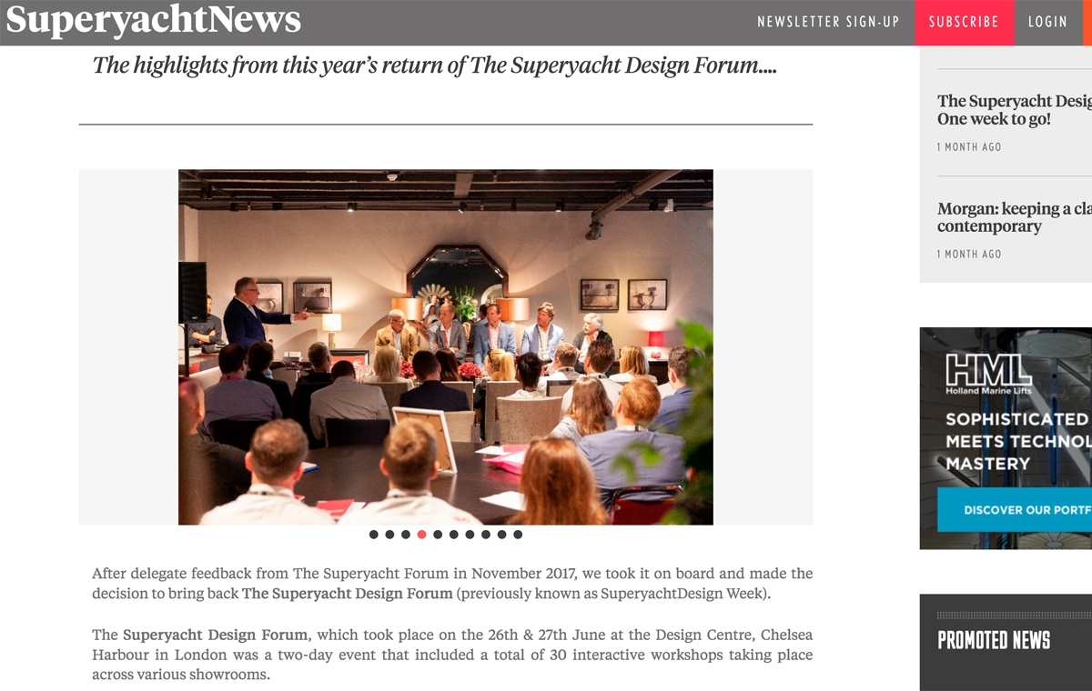 News image for Highlights from The Superyacht Design Forum