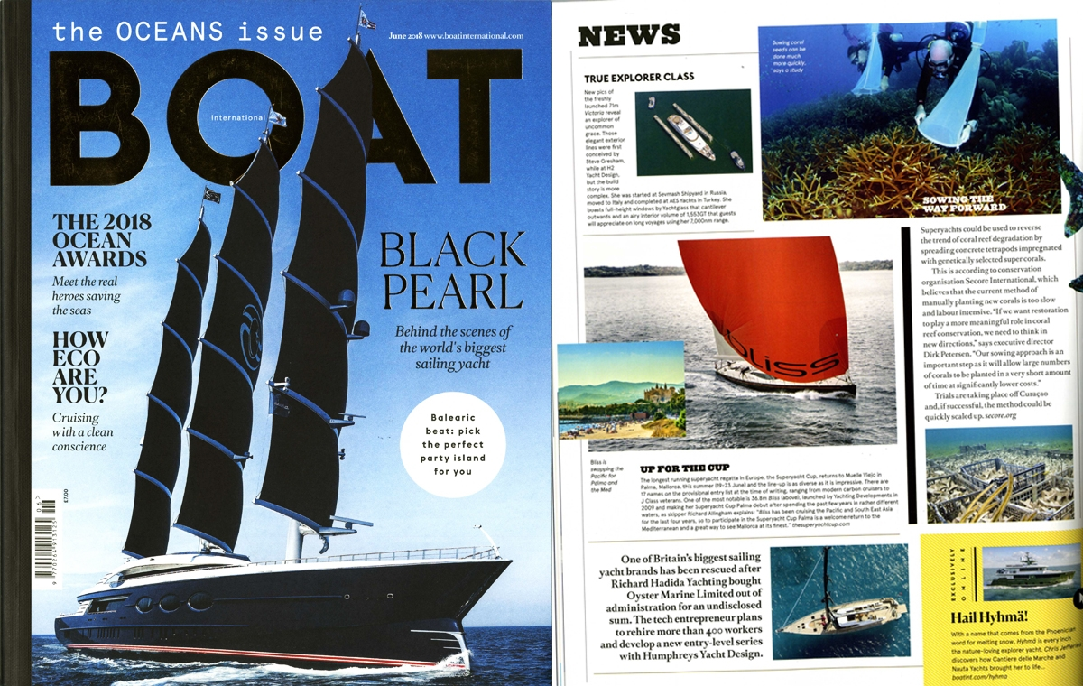 News image for M/Y Victoria hits the News page of Boat International