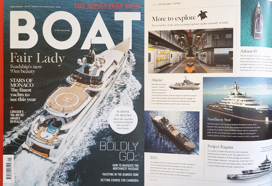 News image for Boat International reveals five exciting explorer vessels