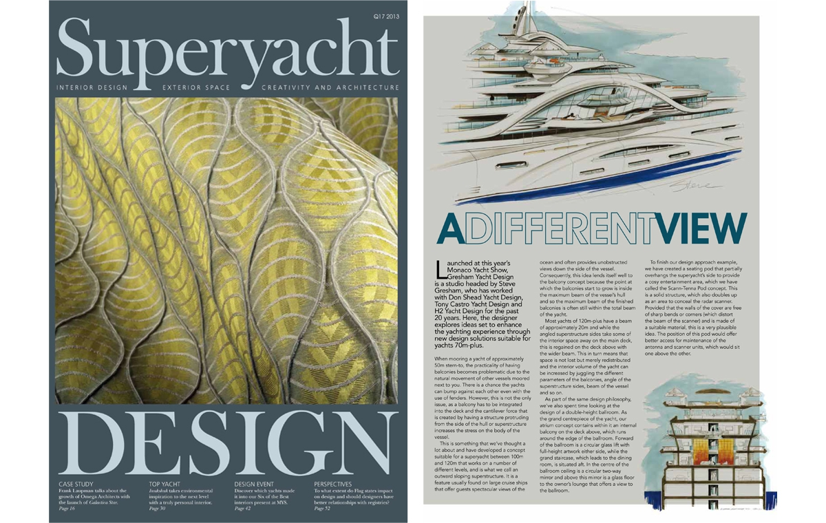 News image for Steve Gresham on enhancing the yachting experience