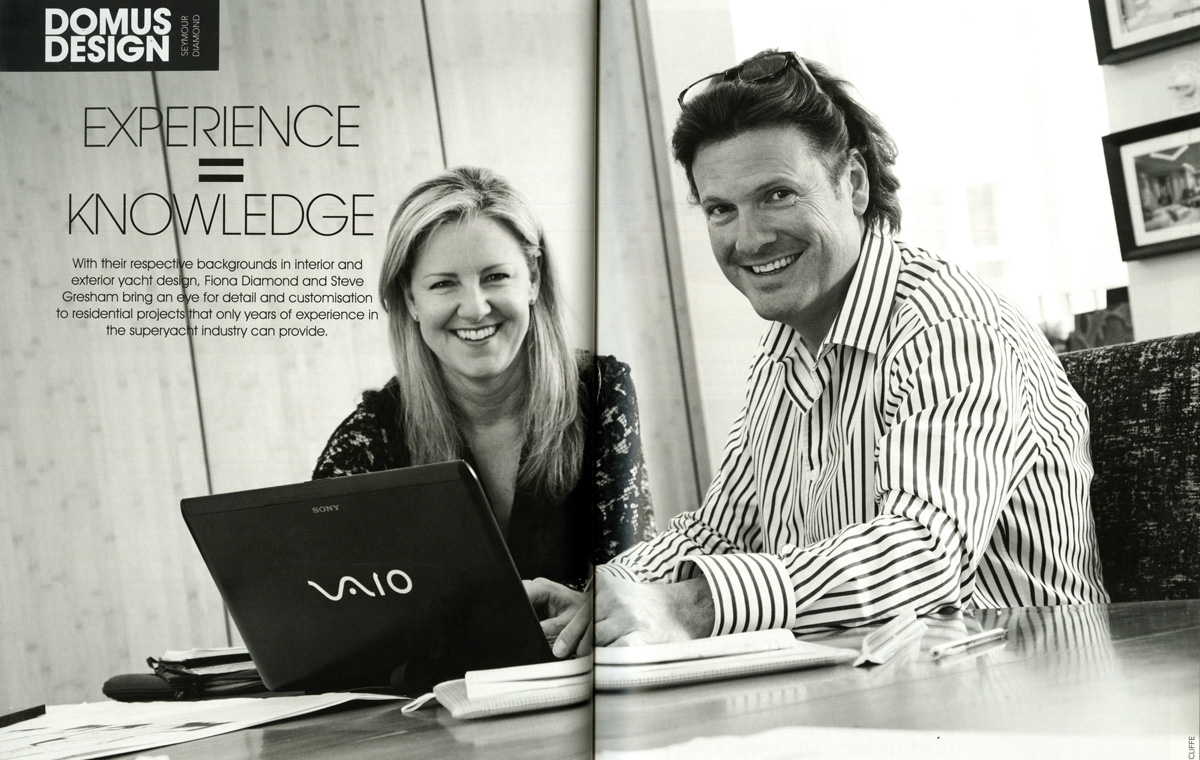 News image for Steve Gresham & Fiona Diamond discuss the detail that goes into yacht design
