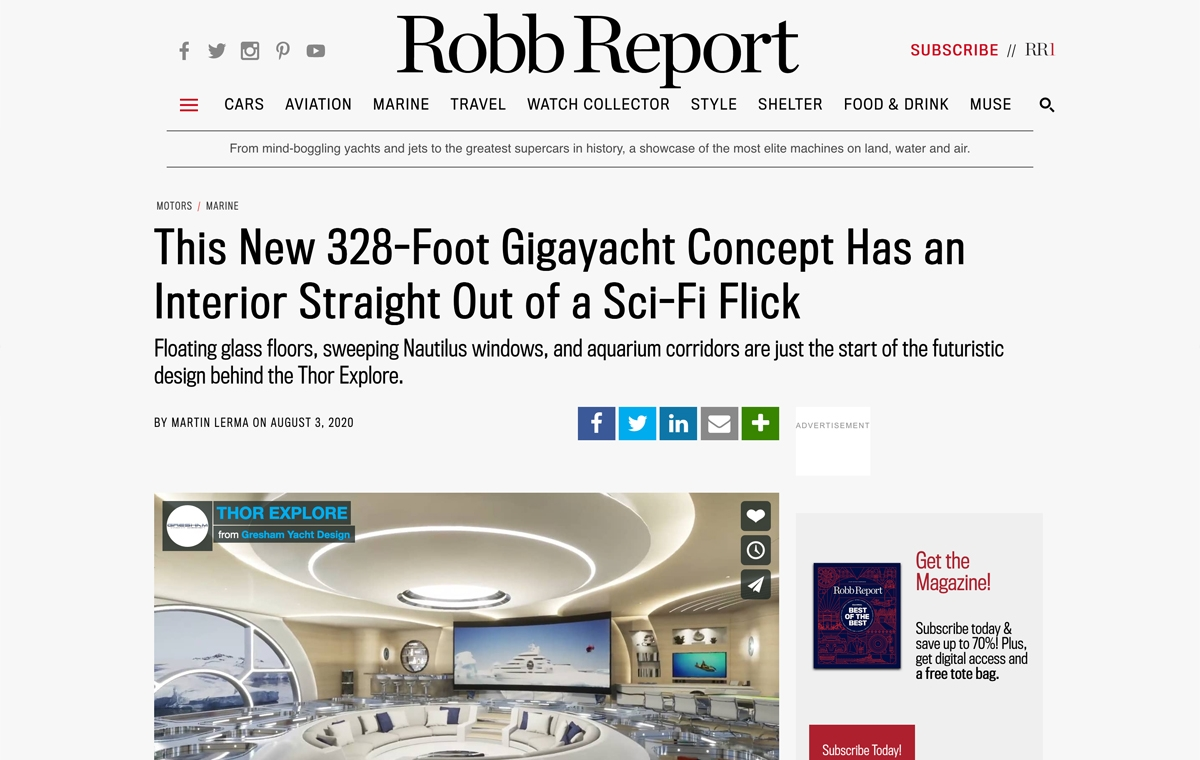 News image for Gigayacht Has an Interior Straight Out of a Sci-Fi Flick