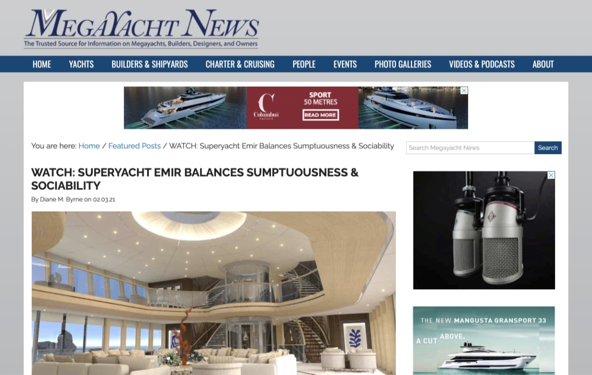 News image for EMIR BALANCES SUMPTUOUSNESS & SOCIABILITY