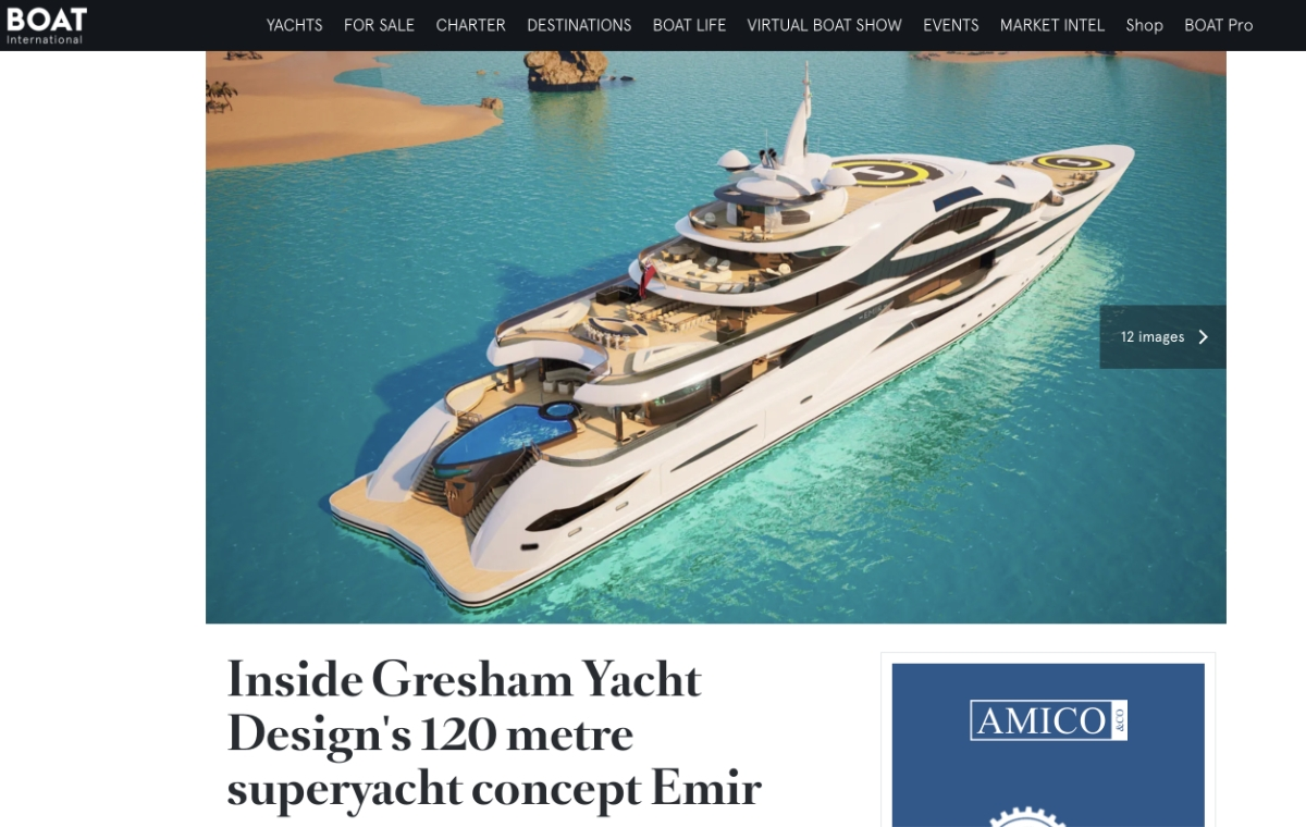 News image for Inside 120m Emir with Boat International