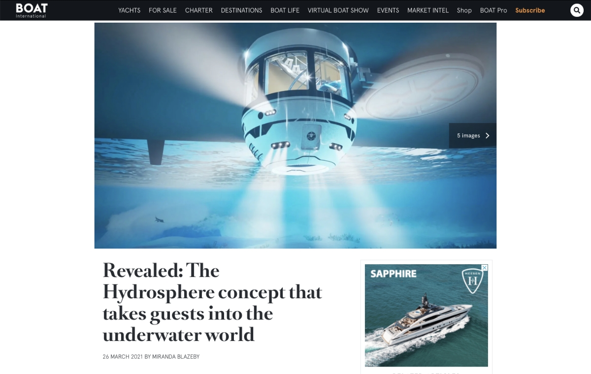 News image for The concept that takes guests into the underwater world